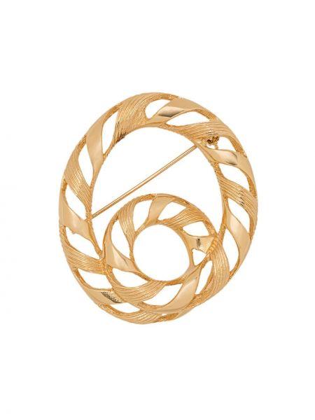 Broszka pozłacany ze złota Christian Dior