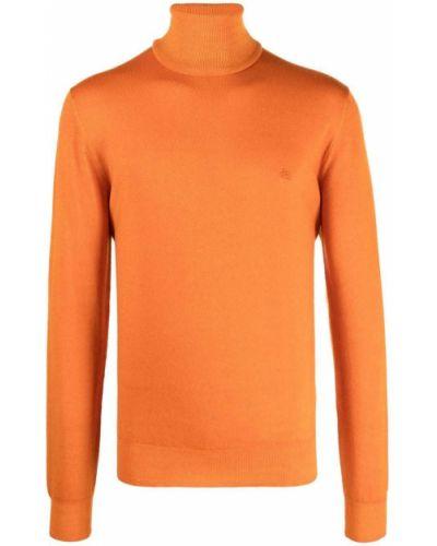 Golf - pomarańczowy Etro