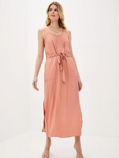 Платье - оранжевое Banana Republic