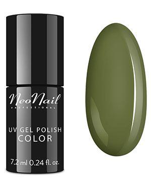 Гель-лак для ногтей оливковый Neonail Professional