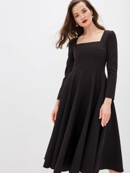 Вечернее платье осеннее черное Call Me Bride