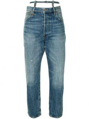Прямые джинсы классические - синие R13
