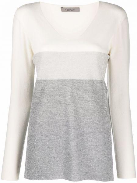 Шерстяной свитер - белый D.exterior
