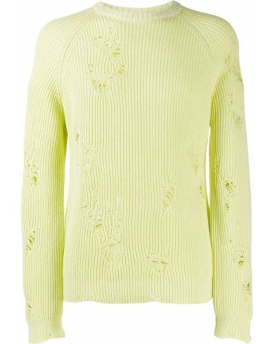Zielony bawełna bawełna z rękawami zworki Laneus