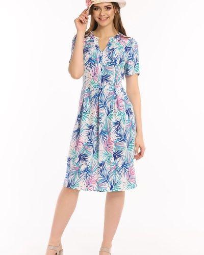 Платье из штапеля с вырезом Merlis