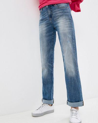 Прямые синие джинсы United Colors Of Benetton