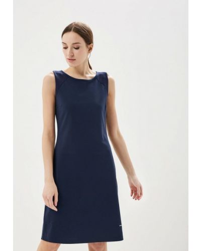 Синее платье Luhta