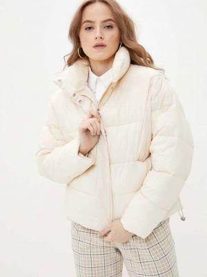 Куртка оверсайз - белая Baon