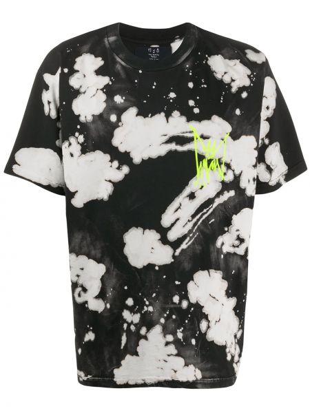 Czarny t-shirt bawełniany krótki rękaw Mjb Marc Jacques Burton