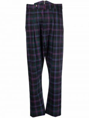Зеленые брюки на молнии Vivienne Westwood