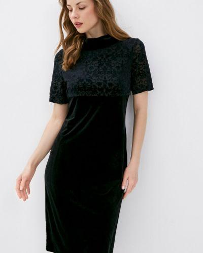 Прямое черное платье Franco Vello