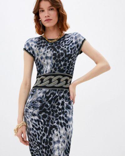 Платье - синее Roberto Cavalli