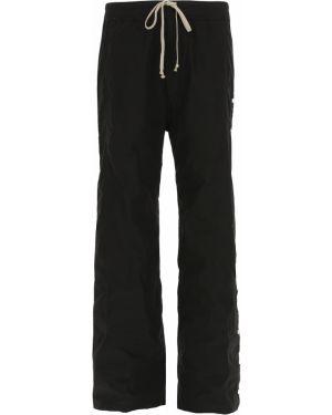 Czarne spodnie bawełniane zapinane na guziki Drkshdw