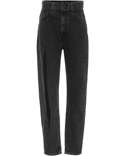 Ватные хлопковые черные джинсы Maison Margiela