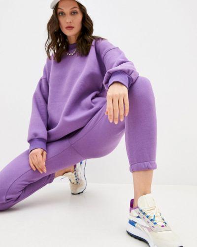 Костюмный фиолетовый спортивный костюм Hey Look