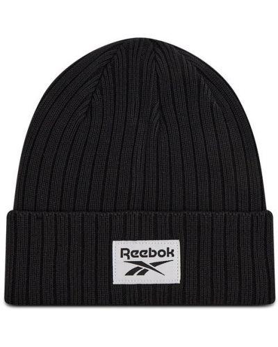 Czarna czapka beanie Reebok