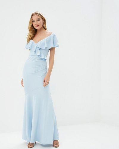 Голубое платье City Goddess