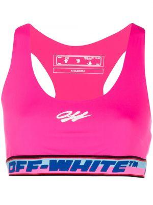 Biustonosz sportowy - biały Off-white