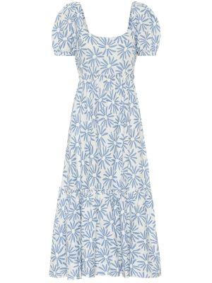 Летнее платье миди льняное Polo Ralph Lauren
