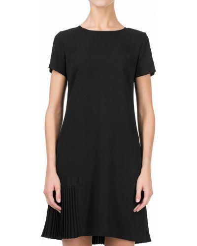 Платье из полиэстера - черное Armani Jeans