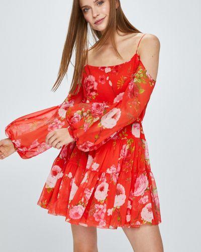 Платье мини на пуговицах расклешенное Miss Sixty