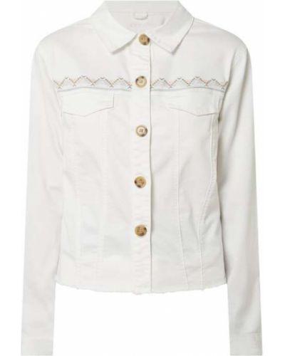 Kurtka jeansowa - biała Cream