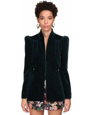 Пиджак бархатный приталенный Etro