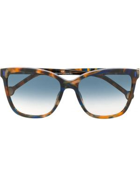 Прямые муслиновые солнцезащитные очки квадратные хаки Ch Carolina Herrera