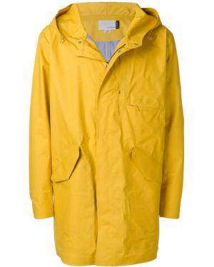 Желтое пальто Nanamica