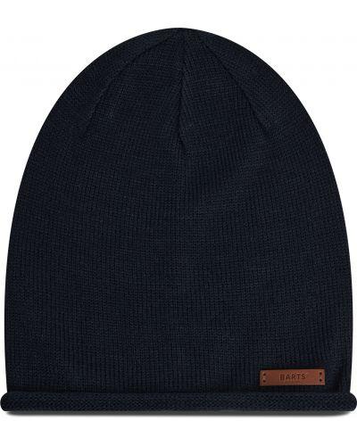 Niebieska czapka z akrylu Barts