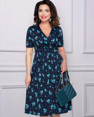 Летнее платье с запахом деловое Charutti