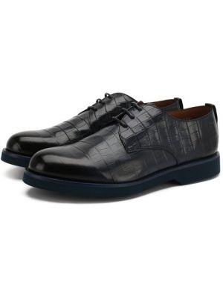 Кожаные туфли из кожи крокодила Doucal's