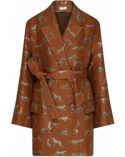 С рукавами шерстяная жилетка с карманами Izeta