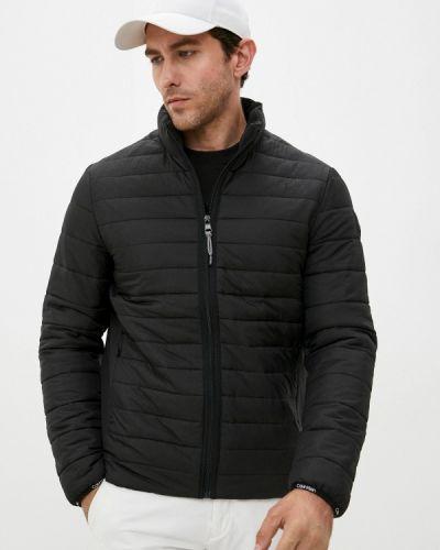 Черная зимняя куртка Calvin Klein