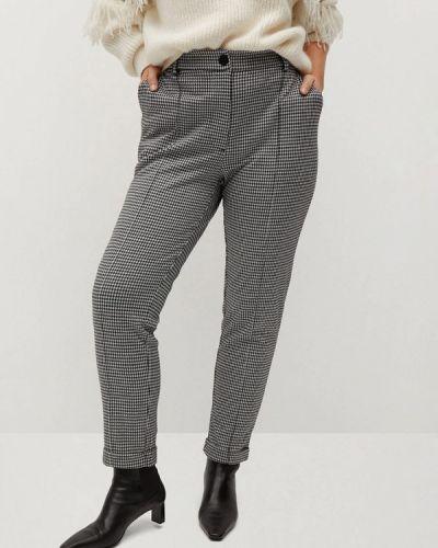 Черные классические брюки Violeta By Mango
