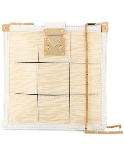 Желтая сумка на плечо Louis Vuitton Pre-owned