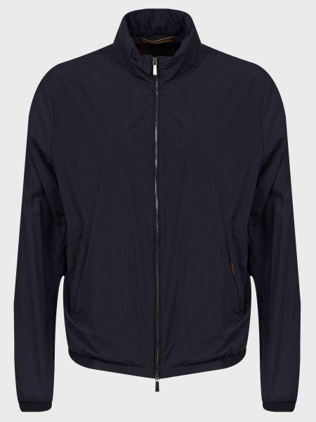 Куртка на молнии - синяя Moorer