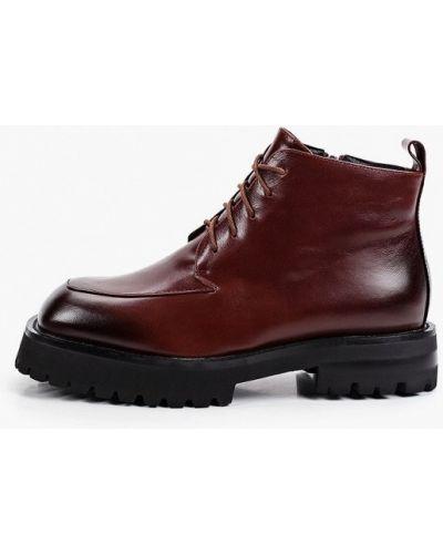 Коричневые зимние ботинки Covani