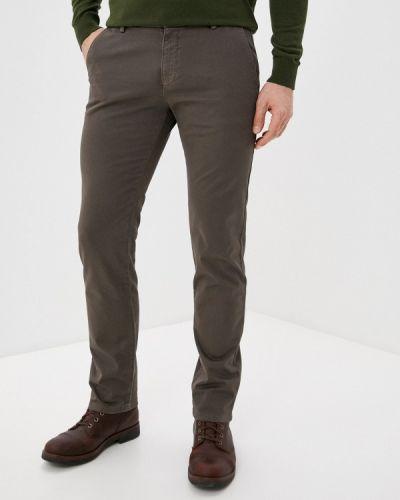 Повседневные коричневые брюки Roberto Cavalli