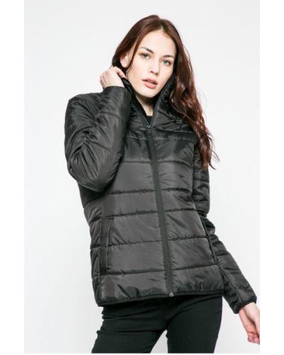 Черная утепленная куртка Puma