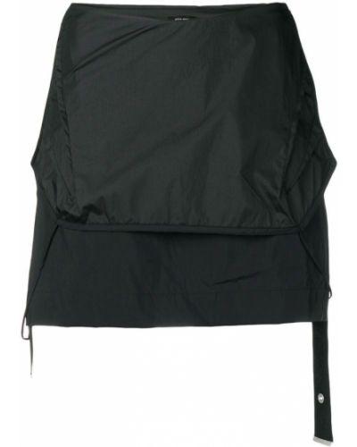 Облегающая черная прямая юбка мини Artica Arbox