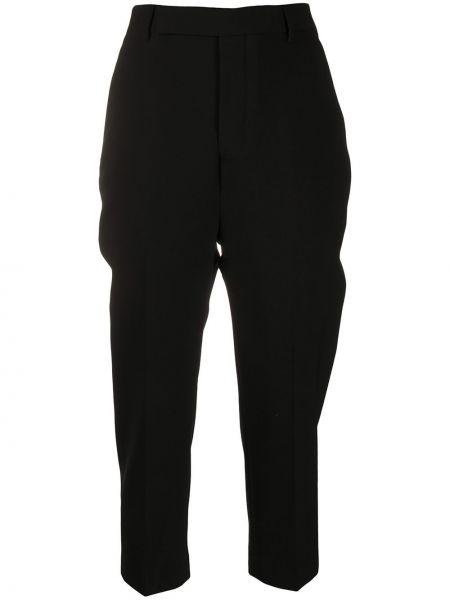 Укороченные брюки - черные Rick Owens