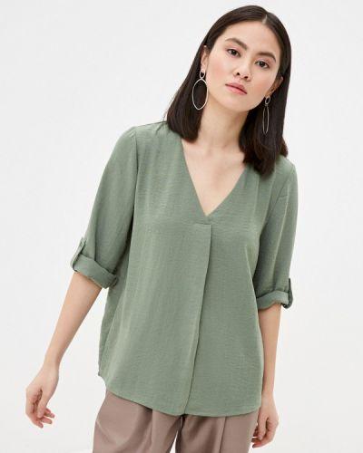 Зеленая блузка с длинными рукавами Jacqueline De Yong
