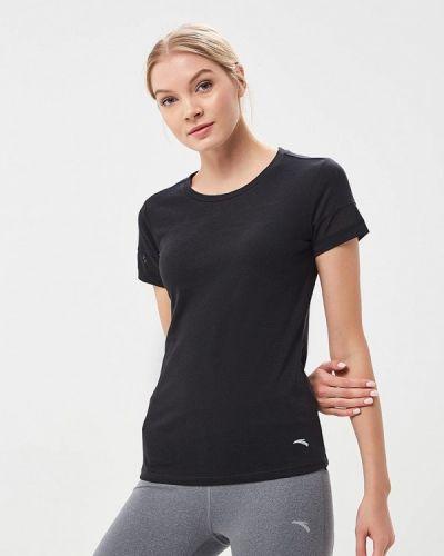 Черная спортивная футболка Anta