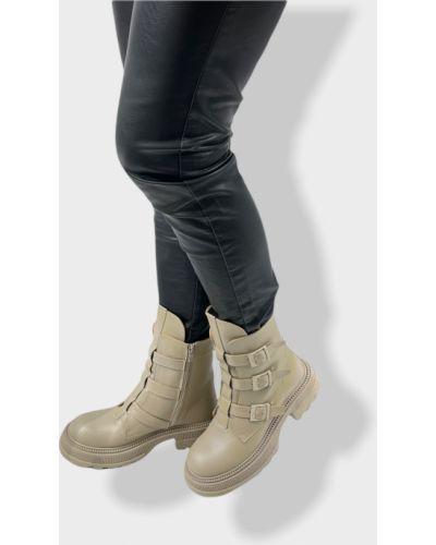 Ботинки - бежевые Teona
