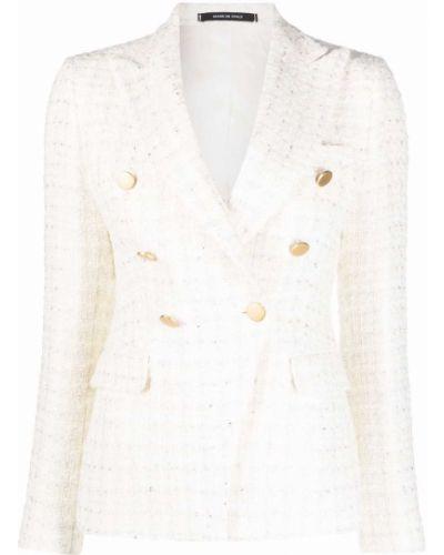 Белый пиджак в клетку Tagliatore