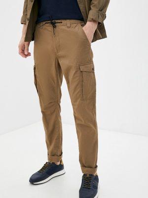 Коричневые брюки карго летние J. Hart & Bros