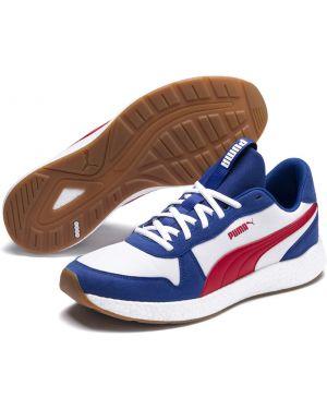 Мягкие спортивные синие кроссовки беговые Puma