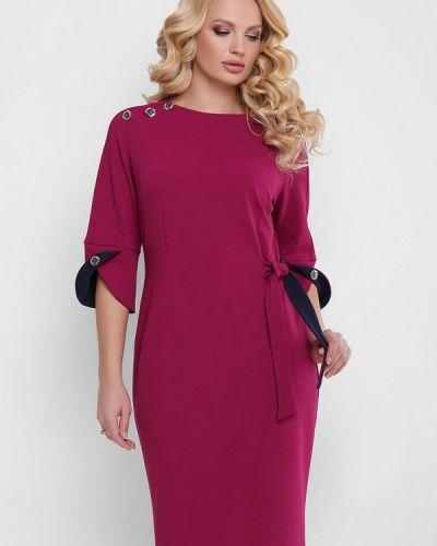 Платье миди - бордовое Vlavi