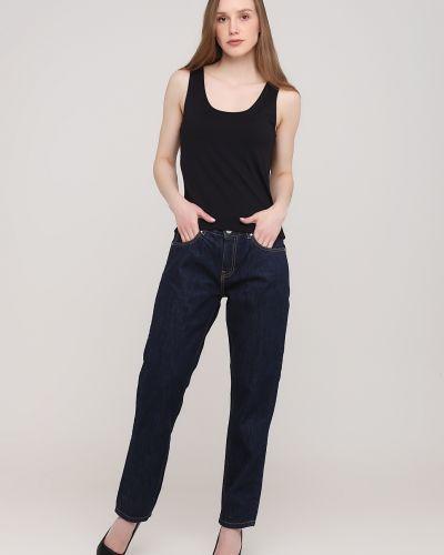 Синие укороченные джинсы Kookai
